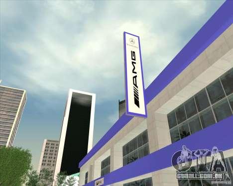 AMG showroom para GTA San Andreas
