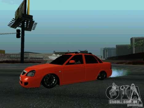 LADA 2170 102-RUS para GTA San Andreas esquerda vista