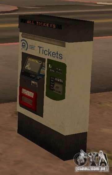 Máquinas de GTA 4 para GTA San Andreas por diante tela