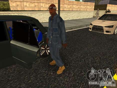 2Pac v1 para GTA San Andreas segunda tela