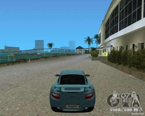 Porsche 911 GT2 para GTA Vice City vista traseira esquerda