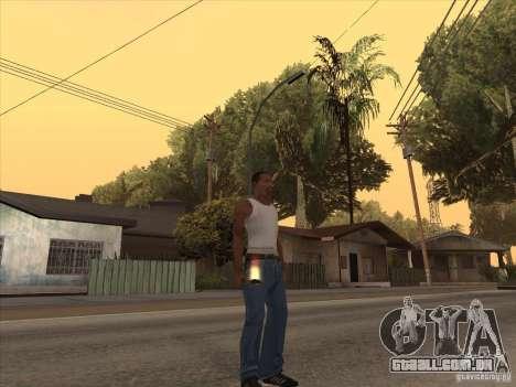 Novo pacote de armas nacionais para GTA San Andreas segunda tela