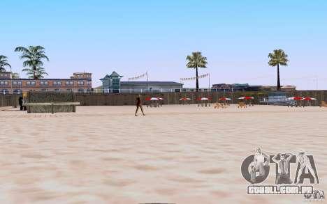 Reality Beach v2 para GTA San Andreas terceira tela