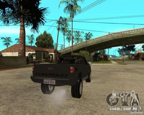 Chevrolet S-10 para GTA San Andreas
