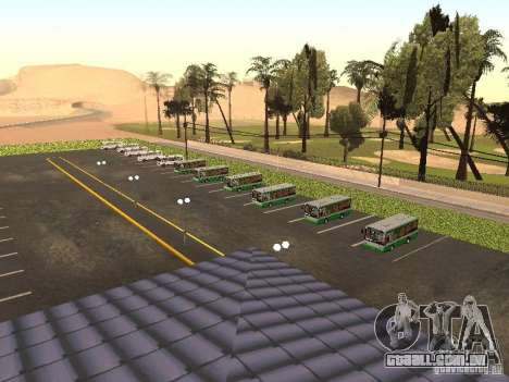 5 ônibus v. 1.0 para GTA San Andreas segunda tela