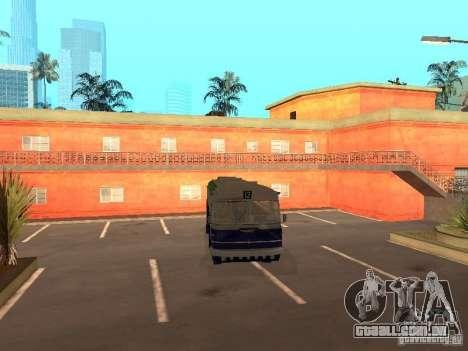 IKARUS 620 para GTA San Andreas traseira esquerda vista