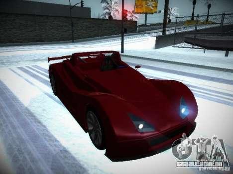 Lada Revolution para GTA San Andreas vista traseira