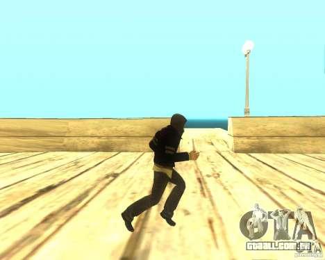 Alex Mercer ORIGINAL para GTA San Andreas por diante tela