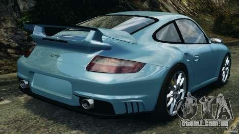 Porsche 997 GT2 para GTA 4 traseira esquerda vista