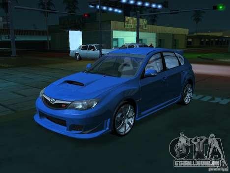 GFX Mod para GTA San Andreas por diante tela