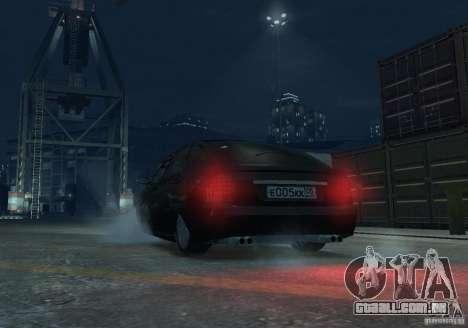 Hatchback de LADA priora para GTA 4 vista interior