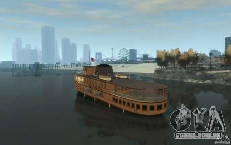 Staten Island Ferry para GTA 4 traseira esquerda vista