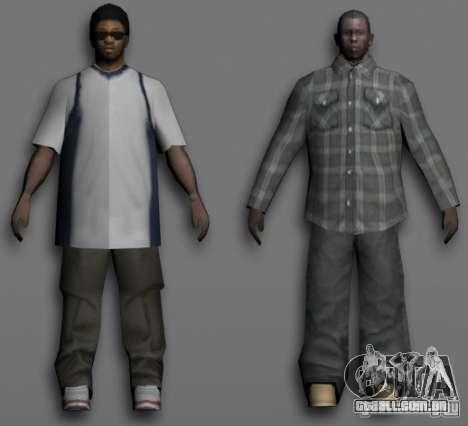 Beta Peds para GTA San Andreas quinto tela