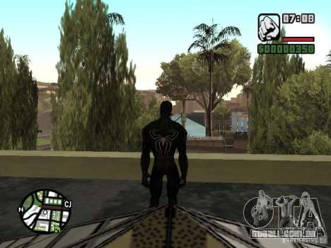 Inimigo do homem-aranha em reflexão para GTA San Andreas quinto tela