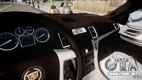 Cadillac Escalade ESV para GTA 4 vista lateral