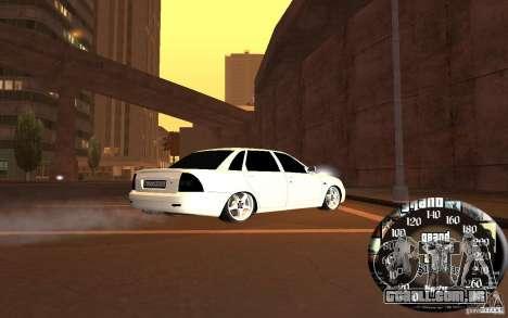 LADA priora, v. 2 para GTA San Andreas traseira esquerda vista