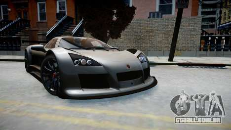 Gumpert Apollo Sport 2011 para GTA 4 vista direita