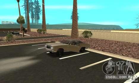Chevy Monte Carlo [F&F3] para GTA San Andreas vista superior