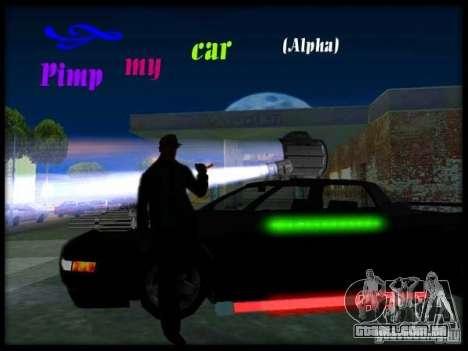 Pimp my Car Final para GTA San Andreas segunda tela