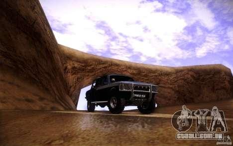 GAZ 2402 4 x 4 PickUp para GTA San Andreas vista inferior