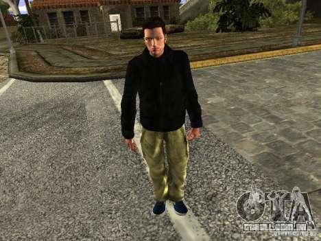 Claude HD Remake (Beta) para GTA San Andreas segunda tela