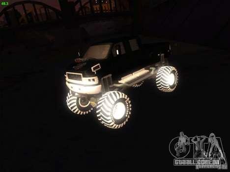 GMC Monster Truck para GTA San Andreas
