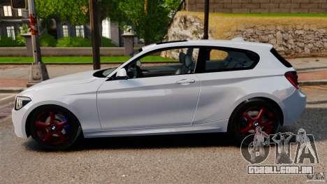 BMW 135i M-Power 2013 para GTA 4 esquerda vista
