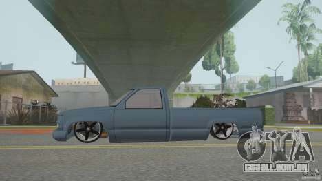 Chevrolet Silverado Mini Truckin 1996 para GTA San Andreas vista direita
