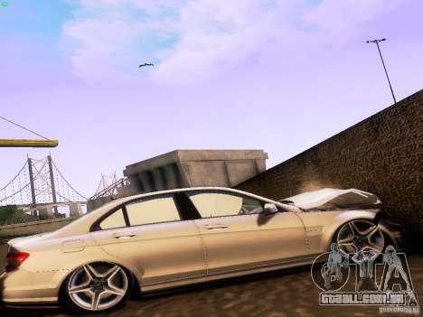 Mercedes-Benz C36 AMG para GTA San Andreas vista direita