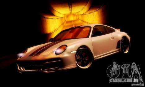 Porsche 911 Sport Classic para GTA San Andreas esquerda vista