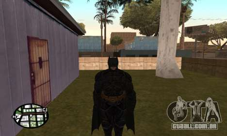 Dark Knight Skin Pack para GTA San Andreas terceira tela