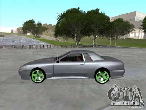 Elegy Full VT v1.2 para GTA San Andreas vista direita
