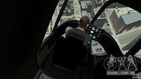 NYC Helitours Texture para GTA 4 traseira esquerda vista