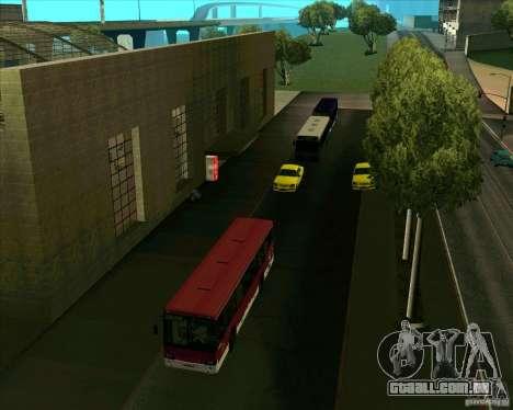 Priparkovanyj transporte v 1.0 para GTA San Andreas por diante tela