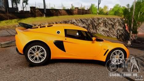 Lotus Exige 240 CUP 2006 para GTA 4 esquerda vista