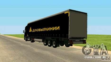 Reboque para GTA San Andreas
