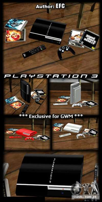 PLAYSTATION 3 para GTA San Andreas segunda tela