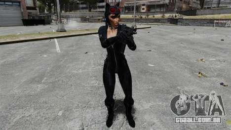 Mulher gato para GTA 4 por diante tela