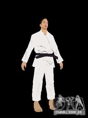 Reteksturirovannye karate para GTA San Andreas por diante tela