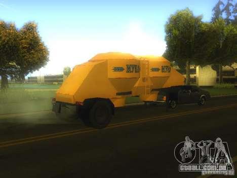 Reboque Mukovoz K4-AMG para GTA San Andreas