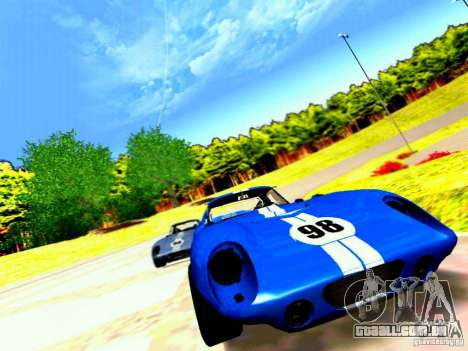 Shelby Cobra Daytona Coupe v 1.0 para GTA San Andreas vista superior