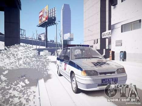 DPS VAZ 2115 para GTA 4 vista direita