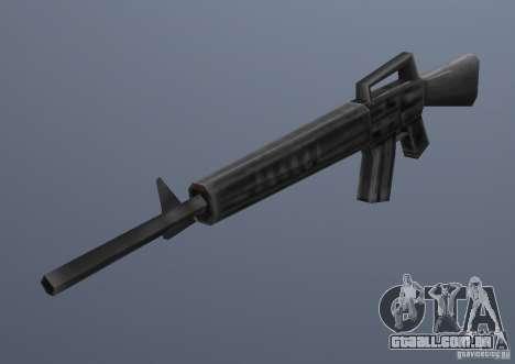 M16 para GTA Vice City segunda tela