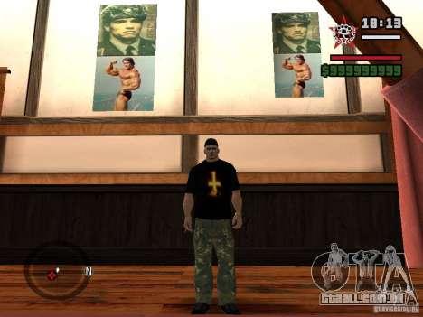 Um ginásio reformado para GTA San Andreas segunda tela