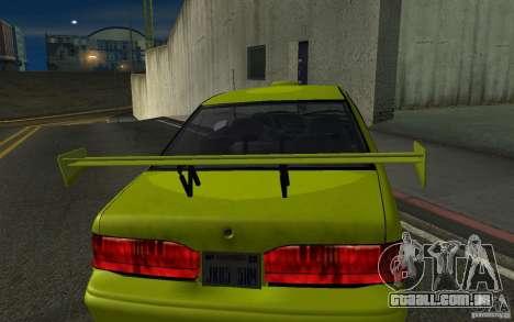 Ford Thunderbird 1993 para GTA San Andreas traseira esquerda vista