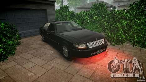 Washington FBI Car para GTA 4