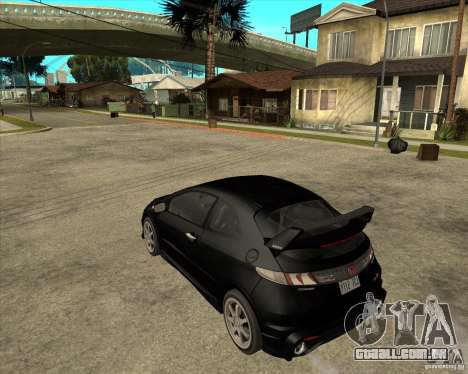 2009 Honda Civic Type R Mugen Tuning para GTA San Andreas esquerda vista