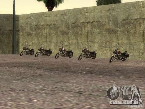A escola realista motociclistas v 1.0 para GTA San Andreas por diante tela