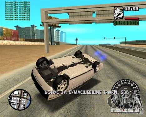 VAZ 2106 tuning para GTA San Andreas vista direita
