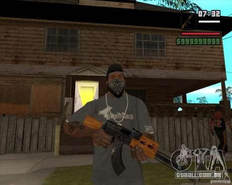 AK 47 de Xenus 2 para GTA San Andreas terceira tela